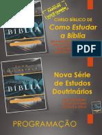 Como Estudar a Bíblia - Módulo 01