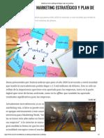 Diferencia entre marketing estratégico y plan de marketing