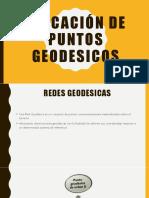 Ubicación de Puntos Geodesicos