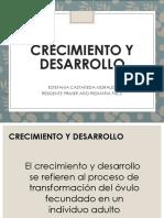 CRECIMIENTO Y DESARROLLO ESTEFANIA .pptx
