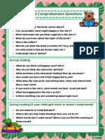 comprehension questions for parents