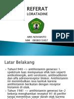 Aris Novianto Loratadine
