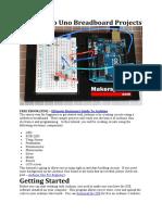 15 Arduino Uno Breadboard Projects