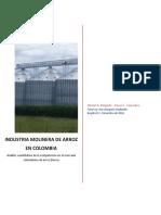 Industria molinera de arroz en colombia
