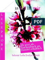 Leseprobe Salomé Leila Evelyn Schutt - Das Ich in mir