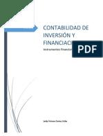 Clasificacion de Instrumentos Financieros