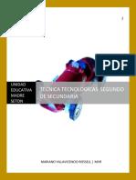 2. Tec. Tecnologicas Segundo Secundaria