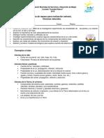 Guía de Repaso Para Evaluación Síntesis CIENCIAS