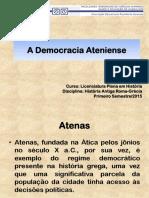 A Cidadania Grega e a Democracia Ateniense