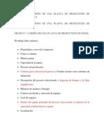 Proyectos de Ingenieria de Procesos- 2019-I