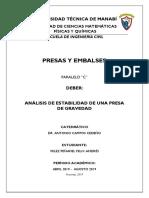 ESTABILIDAD DE UNA  PRESA.pdf