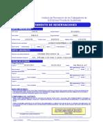 IRTRA_Formulario Reservaciones a Distancia Por Correo
