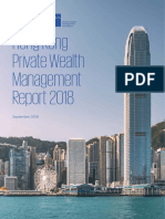 Hong Kong Private Wealth Management Report 2018