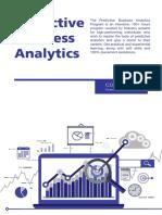Predictive Business Analytics Brochure