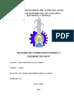 motores informe tecnico