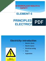 Final Elem 6 Electrical Safety
