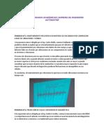 Resumen de Jornadas Academicas CIMA