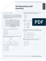 Analytical Geometry and Trigonometry Questions