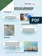 Pictografia Desodorante urinarios