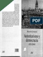 Marcelo Cavarozzi - Autoritarismo y Democracia (1955-2006)
