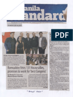Manila Standard, July 18, 2019, Romualdez fetes 131 House allies promises to work for the best Congress.pdf