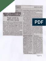 Ngayon, July 18, 2019, Target pondo 30th Asian Games.pdf
