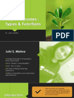 Phytohormone - Types and Functions
