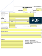 09. GSI-Rec-020-09 Failure Analysis Form