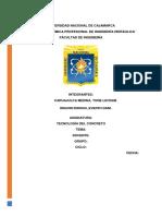 Laboratorio-tecnologia de Concreto