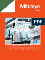 Mitutoyo - Katalog D-20004