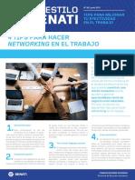 Boletín AES 50 Junio - Tips Para Hacer Networking en El Trabajo