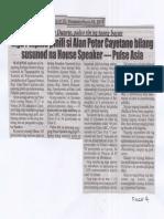 Police Files, July 18, 2019, Mga Pilipino pinili sa Alan Peter Cayetano bilang susunod na House Speaker-Pulse asia.pdf