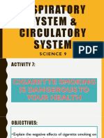 Activity 7 - Cigarette Smoking is Dangerous to Your Health