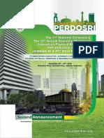 Announcement Perdosri