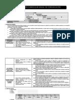 PROG. UNIDADES Y SESIONES 3°-2019