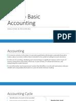 01 Intro to Basic Acctg - Recording Analyzing