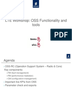 LTE Workshop - OSS Functionality and Tools RevA