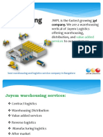 warehousing and 3pl services in india