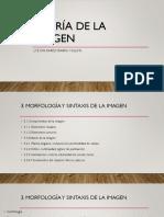3. Morfología y Sintaxis de La Imagen