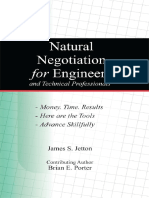 James S. Jetton, Brian E. Porter - Natural Negotiation for Engineers and Technical Professionals-ASME Press (2011)