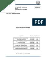 Contratos Laborales Grupo No. 11