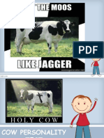 Cow Personality Test