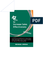42 Rules to Increase Sales Effectiveness. A Practical Guidebook for Sales Reps, Sales Managers and Anyone Looking to... ( PDFDrive.com ).pdf