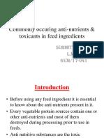 Anti Nutrients