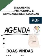 PENSAMENTO COMPUTACIONAL E LINGUAGEM DESPLUGADA.pptx