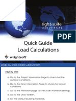 Wrightsoft Step by Step Quick Load Calculation