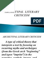 ARCHETYPAL  LITERARY CRITICISM.pptx