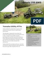 manual Yamaha YFM350FA