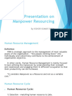 Manpower Resoursing PPT