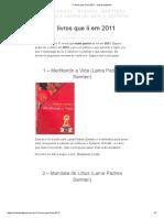 11 Livros Que Li Em 2011 _ Sobre Budismo
